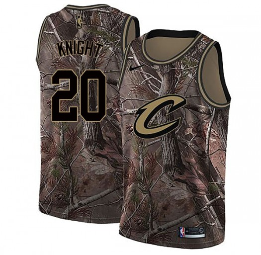 Youth Brandon Knight Cleveland Cavaliers Nike Swingman Camo Realtree Collection Jersey