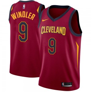 Youth Dylan Windler Cleveland Cavaliers Nike Swingman Maroon Jersey - Icon Edition